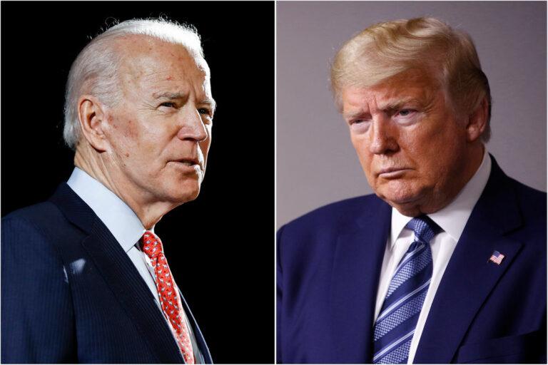 Biden has slight edge over Trump in Wisconsin, Michigan