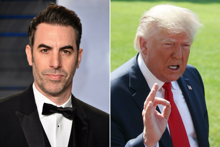 "Sacha Baron Cohen Responds To Donald Trump's 'Borat' Criticism: ""The Whole World Laughs At You"""