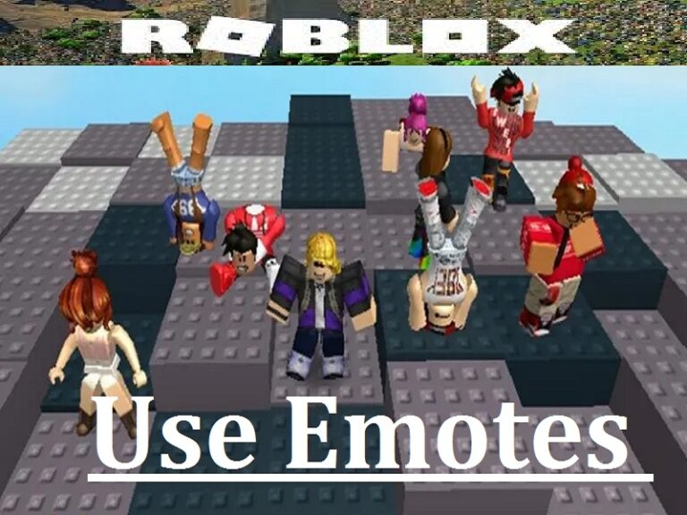 How to Use Emotes in Roblox? Equip and Use Emotes on PC and Mobile Phones