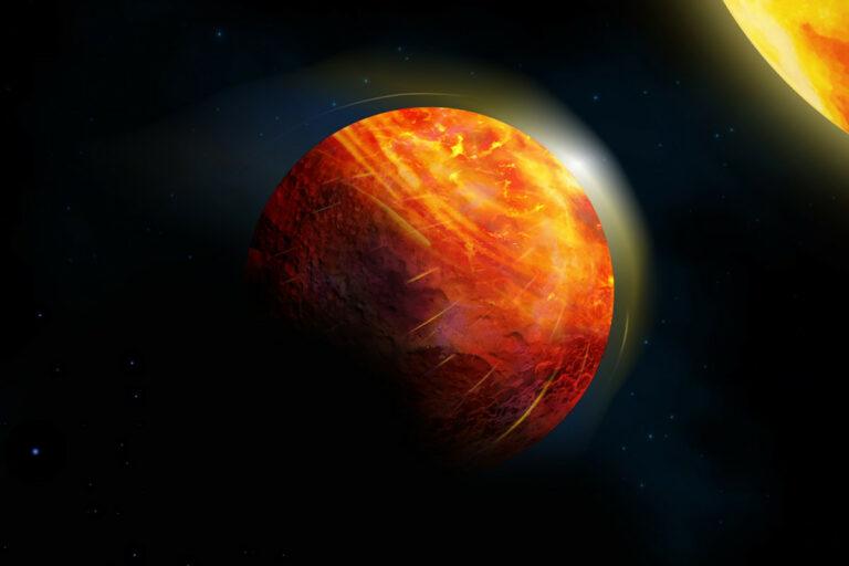 Astronomers discover hellscape planet that rains rocks