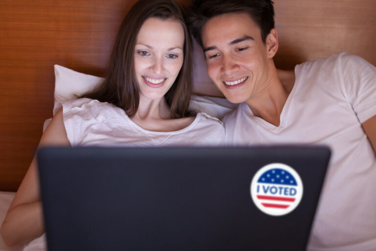You have to vote — or lie — to watch Pornhub on Election Day
