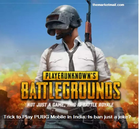 PUBG Mobile still playable in India just by 1 easy Trick   Is PUBG ban is just a joke?