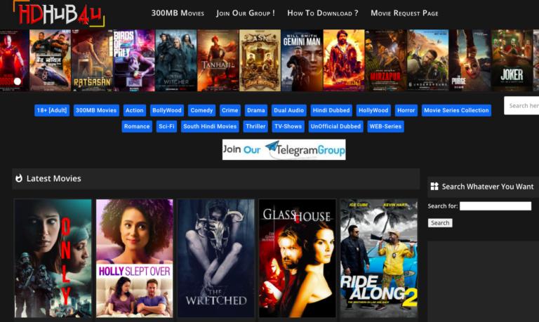 Hdhub4u 2021 : Illegal HD Movies Download Website