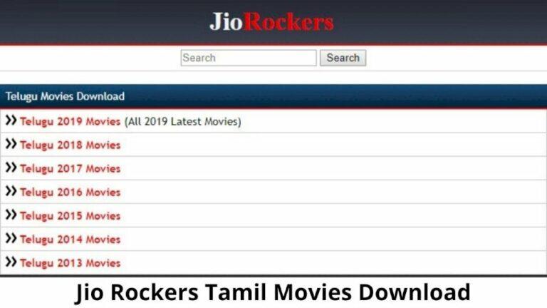 Jio Rockers Tamil Website 2021 – Watch New Tamil Movies HD Download