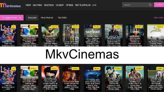 MkvCinemas 2021 – HD Bollywood Hollywood Movies Download Website