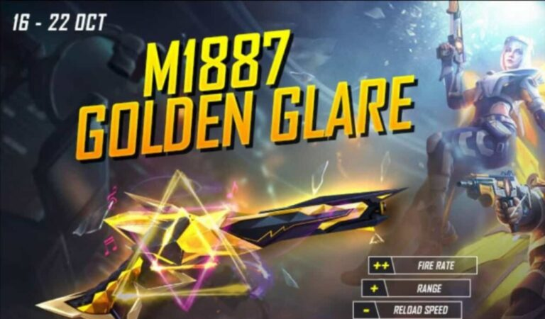 Free Fire Golden Ascension: How to get M1887 Golden Glare and Flaxen Megacypher Bundle