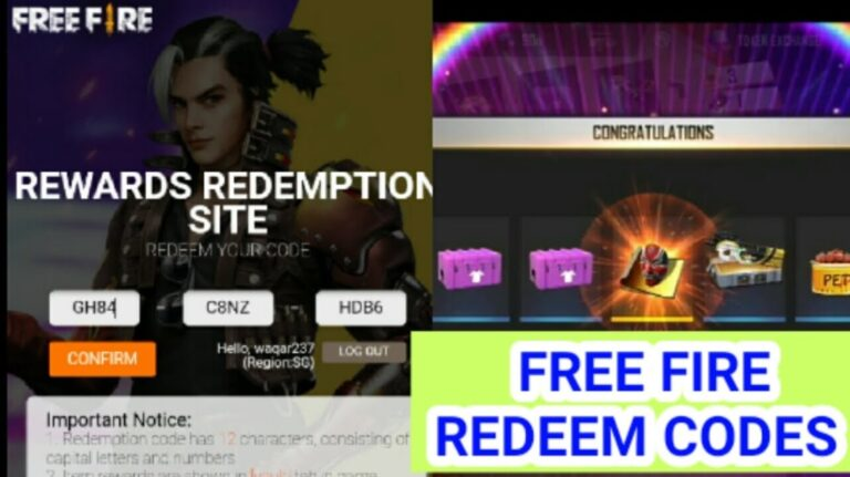 Free Fire redeem codes for today (16 October): How to get free Famas Moonwalk Loot Crate