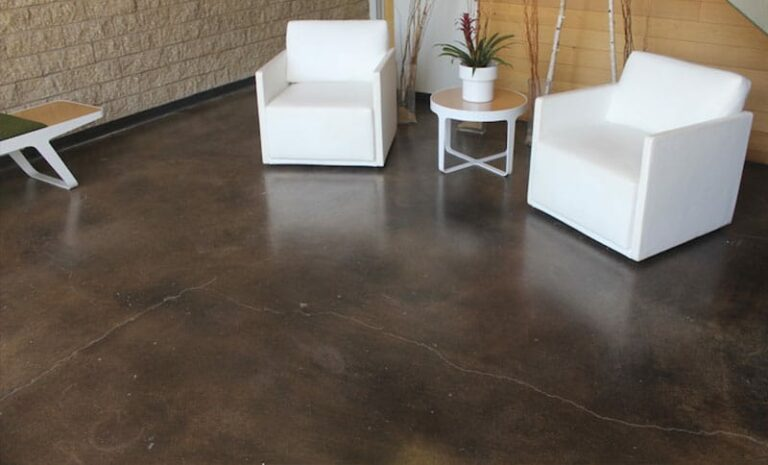 What are the best indoor concrete floor finishes?